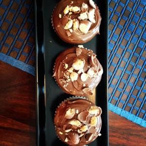 Nutella Maltesers Vanilla Cupcakes