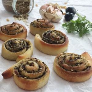 Olive Tepenade Za'atar Bread