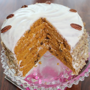 Carrot and Ginger Cake