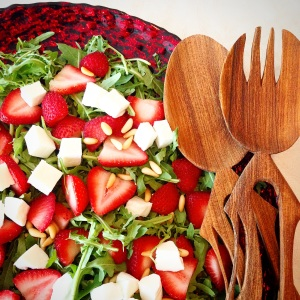 Fruity Arugula Salad